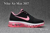 air max 2017 women sneakers noir pink