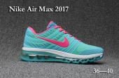 air max 2017 women sneakers vert rouge