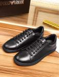 armani ga running mode sneakers full cowhide