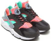 buy nike huarache 2015 outlet size 36-40 vert-noir- orange,basket air huarache independence day