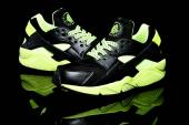 buy nike huarache 2015 outlet size 36-40 fluorescent green,vente basket air huarache moire
