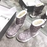 christian dior boots luxury fashion australian wool gray