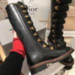 christian dior boots luxury fashion bee high boots