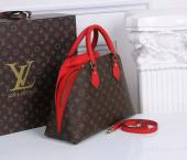 fashion bag louis vuitton solde rouge m41779 w33h24d14
