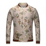 gucci classic blouson mode jacket beige embroidery
