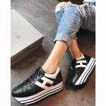 hogan platform femmes sneakers 2018 black add 6cm