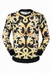 jacket jacket versace luxury casual big flower