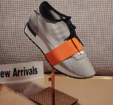 men balenciaga runner chaussures size 35-44 orange mid