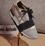 men balenciaga runner chaussures size 35-44 silver black