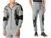 new philipp plein 2017 long tracksuit leather shoulder