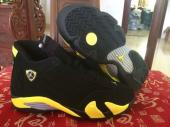 nike jordan kids air jordan 14 bg ferrari yellow black
