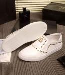 philipp plein slip-on sneakers stud embossed flower mark