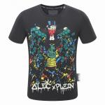 philipp plein t-shirt short sleeve dollar fly