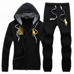 ralph lauren grils tracksuit survetement couronne pony or