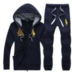 ralph lauren grils tracksuit survetement couronne-3 blue