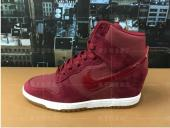 sportswear nike montantes air revolution sky baskets vin rouge