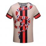 unisex gucci tee shirt summer down snake