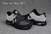 baskets air max 2017 blanche et jaune back gris