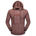 blousons supreme louis vuitton pour homme with hat brown