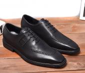 chaussure bateau hermes business affairs leather shoes black