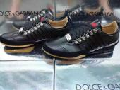cuir dsquared2 shoes italy noir
