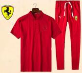 jogging Tracksuit ferrari 2017 coton all red