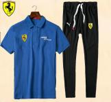 jogging survetement ferrari 2017 coton blue 488 spider