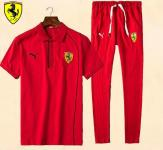 jogging Tracksuit ferrari 2017 coton double pony red