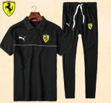 jogging survetement ferrari 2017 coton mid line balck