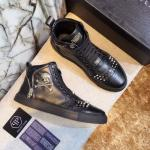 man philipp plein chaussures france skull black