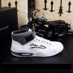 man philipp plein shoes france all leather white