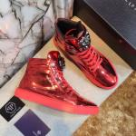 man philipp plein shoes france red patent leather