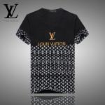 new arrival louis vuitton t-shirts sport half black
