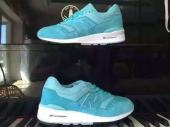 new balance running shoes man blue sky