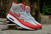 nike 87 air max 1 sneakerboot pas cher glace rouge