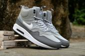 nike 87 air max 1 sneakerboot pas cher pari gray