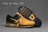 nike air max 2017 edition gold top