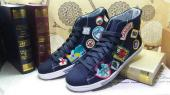 shoes dsquared2 pas chere shoes high top bleu a