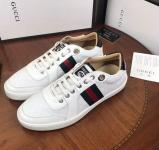 chaussures gucci edition limitee blanc