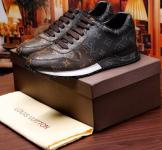 sneakers louis vuitton chaussures de dentelle monogram half