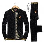 survetement versace magasin sport mode v-logo noir