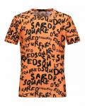 vente polo dsquared2 paris hommes pas cher multi-caracteres dsq,t shirt dsquared2 france hommes orange