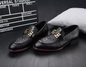 versace shoes sport solde crocodile skin black