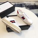 women gucci chaussures blanches chaussures de sport flatform chaussures crystal bee