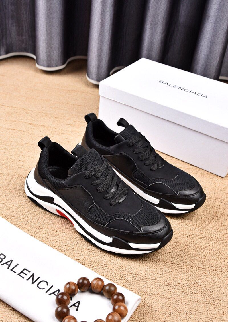 sneakers chaussure de balenciaga mode hot black
