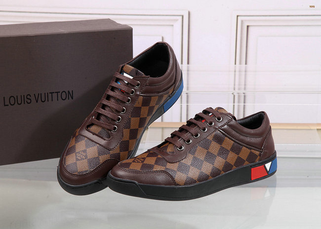 064eda763ee sneakers louis vuitton luxe et circulation damier coffe Chaussures LV