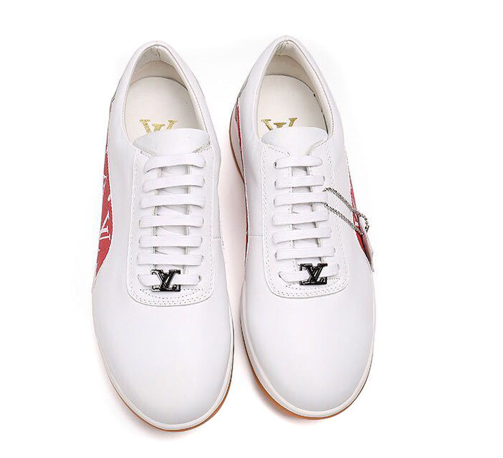 sneakers louis vuitton chaussures de dentelle sheep leather inside