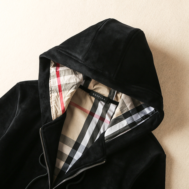 Tracksuit burberry automne-hiver double-faced velvet