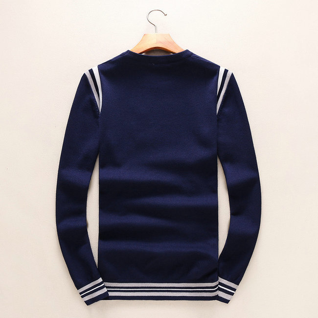 sweat louis vuitton damier pull mode round neck fleece blue