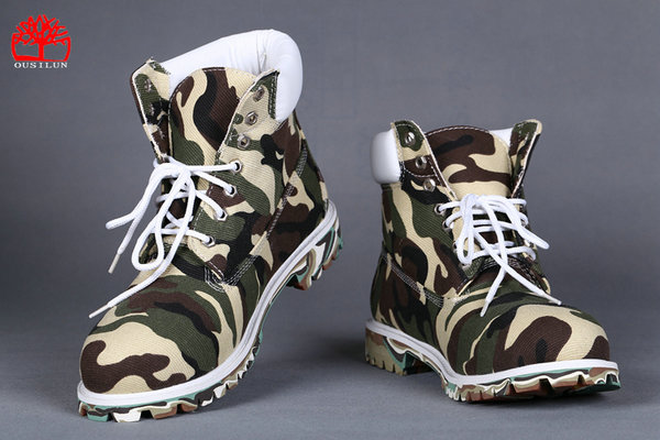 timberland shoes marque exterieure camouflage vert